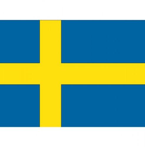 Vlag Zweden stickers
