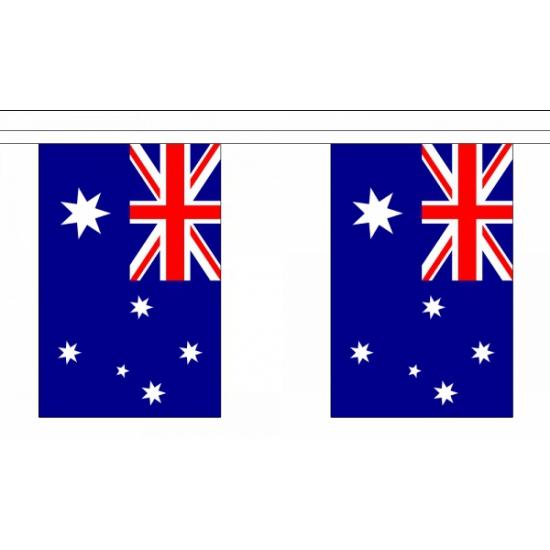 Vlaggenlijn Australie 9 m