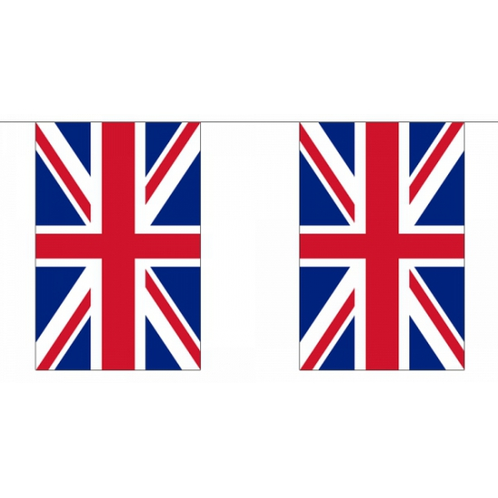 Vlaggenlijn Groot brittannie 9 meter
