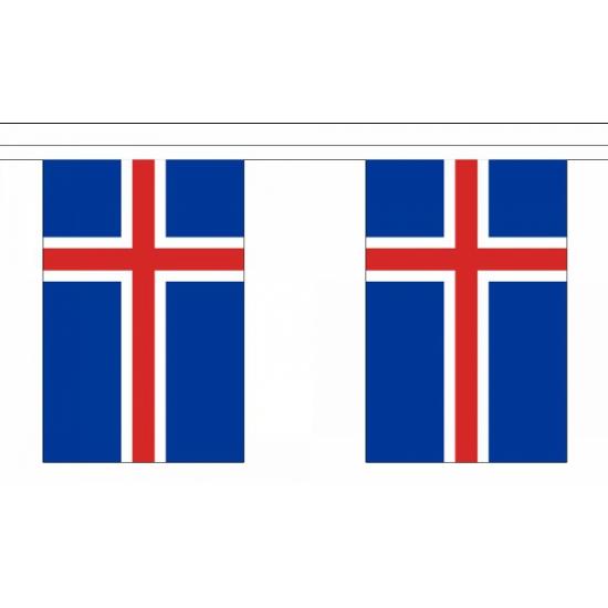 Vlaggenlijn Ijsland