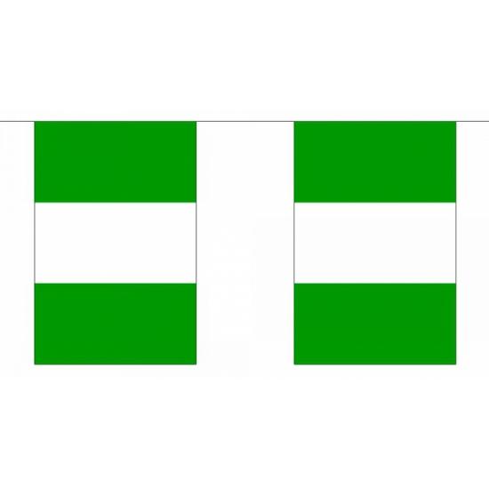Vlaggenlijn Nigeria 9 meter