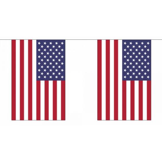 Vlaggenlijn USA 18 25 m