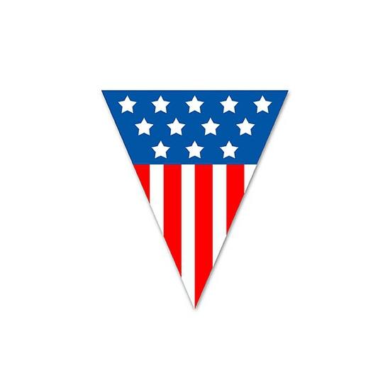 Vlaggenlijn USA 5 meter