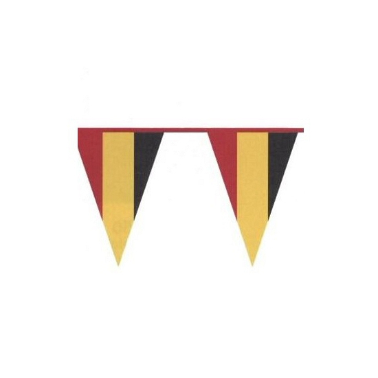 Vlaggenlijnen Belgie kleuren