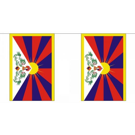 Vlaggenlijnen Tibet 9 m