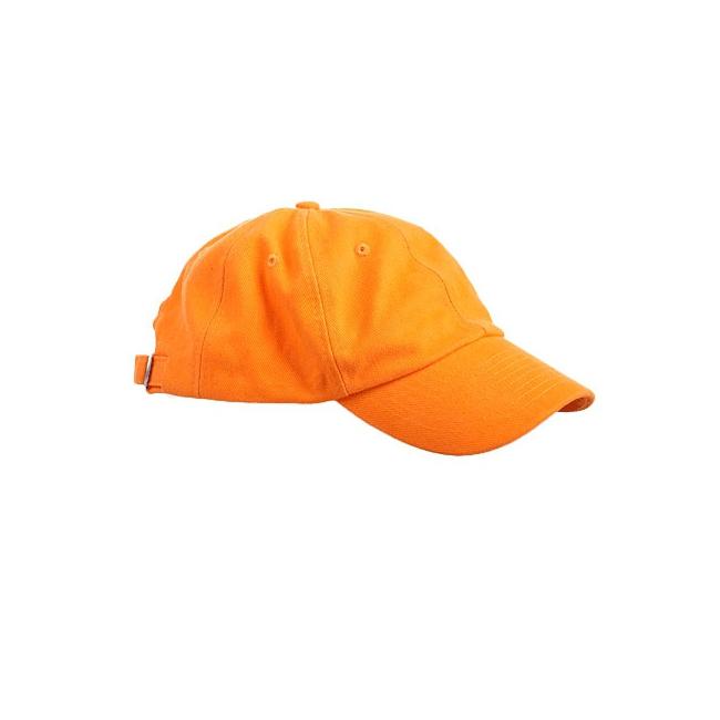 Voordelige baseballcaps oranje