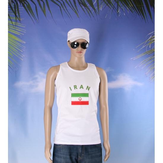 Witte heren tanktop Iran