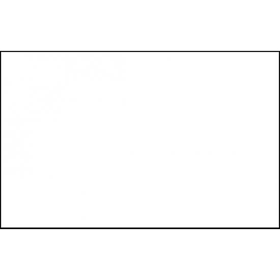 Witte polyester vlag 150 x 90 cm