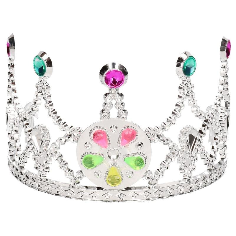 Zilveren kroon voor kinderen