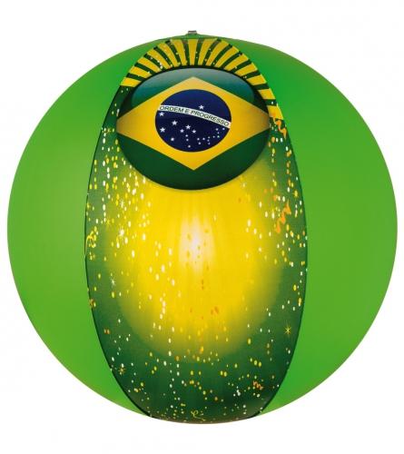 Zomer strandbal Brazilie