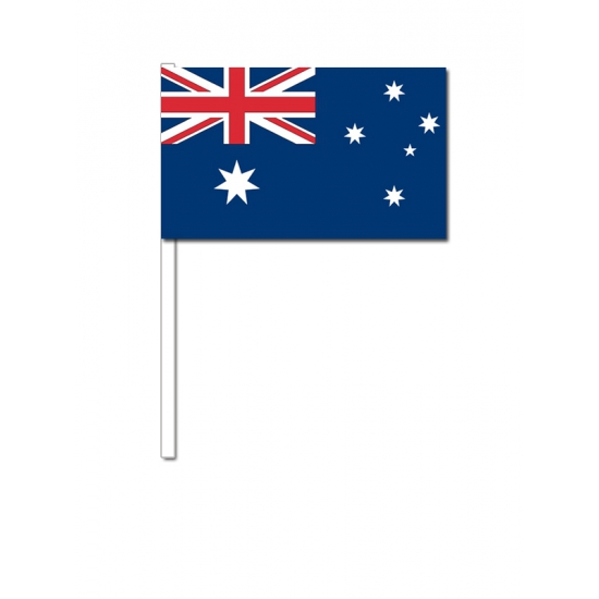 Zwaaivlaggetjes Australie 12 x 24 cm