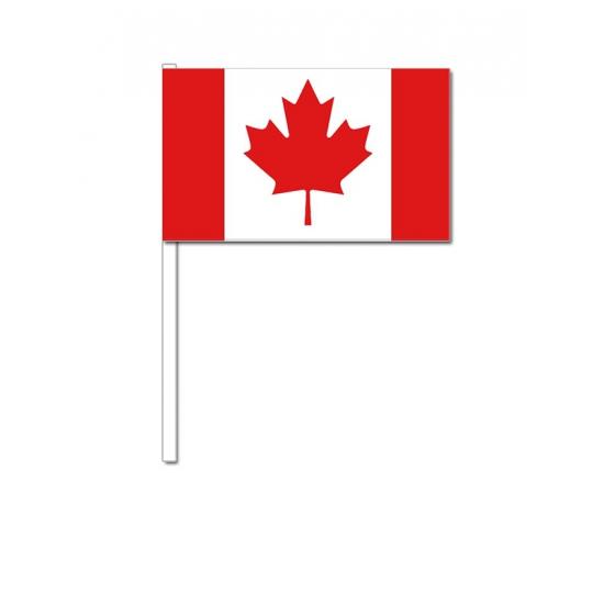 Zwaaivlaggetjes Canadese vlag