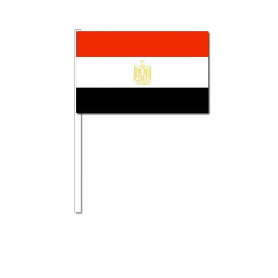 Zwaaivlaggetjes Egypte 12 x 24 cm