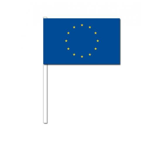 Zwaaivlaggetjes Europa 12 x 24 cm
