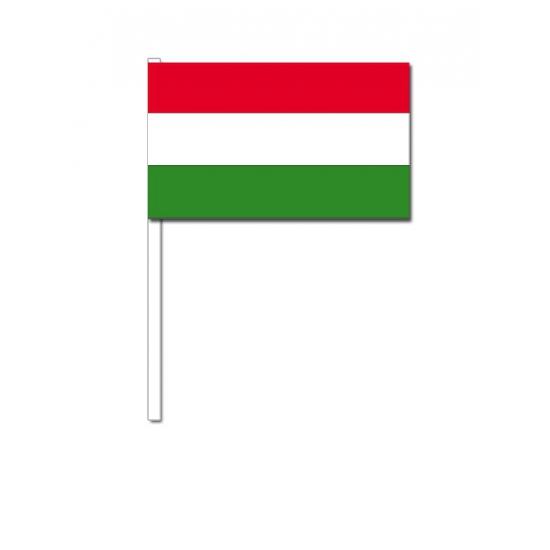 Zwaaivlaggetjes Hongaarse vlag