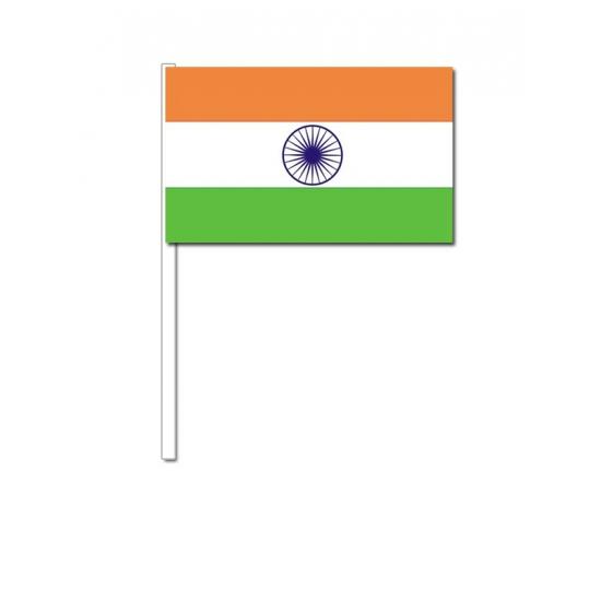 Zwaaivlaggetjes India 12 x 24 cm