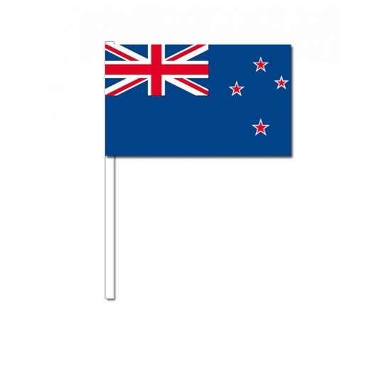 Zwaaivlaggetjes Nieuw Zeeland 12 x 24 cm