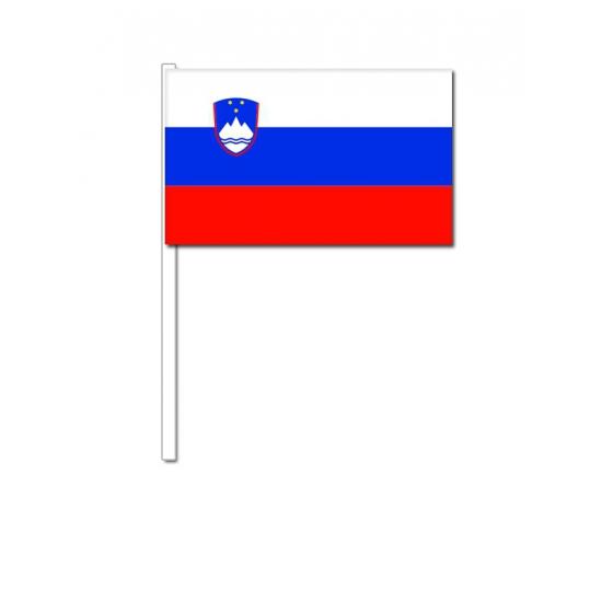 Zwaaivlaggetjes Slovenie vlag