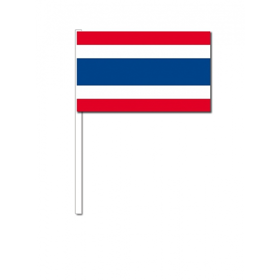 Zwaaivlaggetjes Thailand 12 x 24 cm