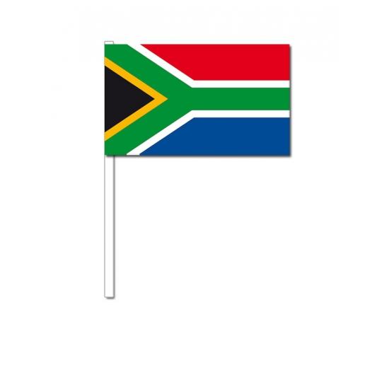 Zwaaivlaggetjes Zuid Afrika 12 x 24 cm