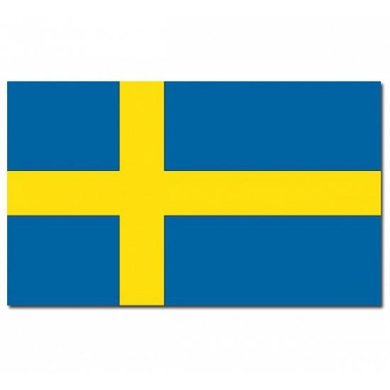 Zweden vlaggen