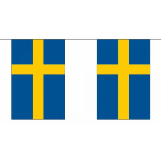 Zweden vlaggenlijnen