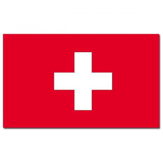 Zwitserland vlaggen 150x90 cm