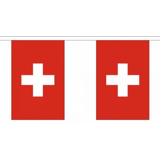 Zwitserland vlaggenlijn