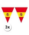 3x spaanse vlaggenlijn