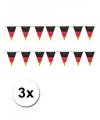 3x vlaggenlijn duitsland 10 meter