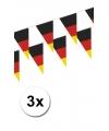 3x vlaggenlijn duitsland