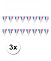 3x vlaggenlijn frankrijk