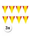 3x vlaggenlijn spanje 3 meter