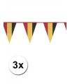 3x vlaggenlijnen belgie