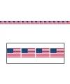 Amerikaanse vlag markeerlint 6 meter