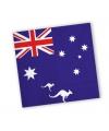 Australie servetten 20 stuks