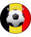 Bierviltjes belgi voetbal print