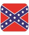 Bierviltjes zuidelijke staten vlag vierkant 15 st