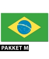 Brazilie versiering pakket medium