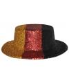 Duitsland glitter hoed plastic