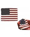Fleece deken amerikaanse vlag