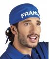 Frankrijk bandana blauw
