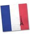 Frankrijk servetten 20 stuks