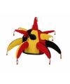 Joker supporters hoed zwart rood geel