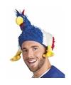 Kippen muts franse vlag