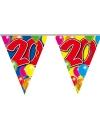 Leeftijd vlaggenlijn 20 jaar