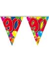 Leeftijd vlaggenlijn 90 jaar