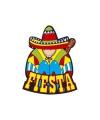 Mexicaans fiesta decoratie bord 55 x 55 cm