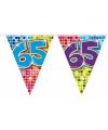 Mini vlaggenlijn 65 jaar