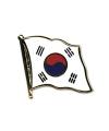 Pin vlag zuid korea